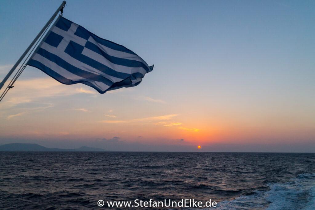 Abschied von der Insel Symi, Griechenland