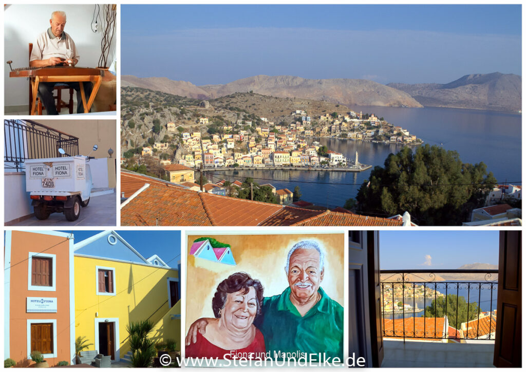 Hotel Fiona, Insel Symi, Griechenland