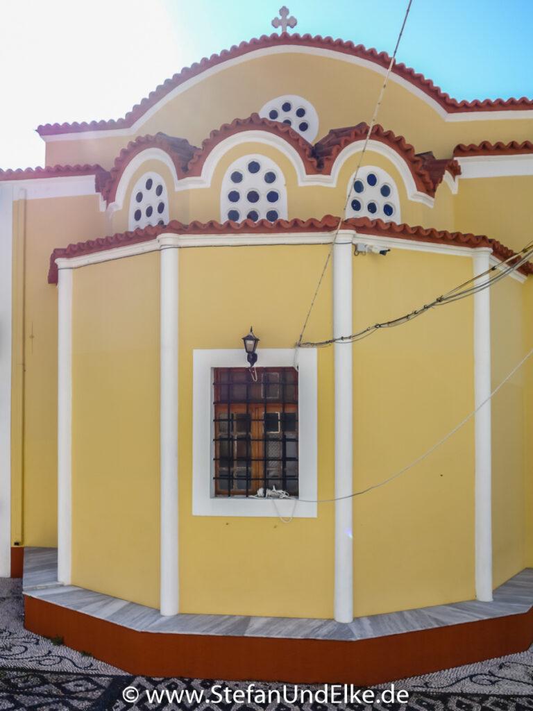 Die Kirche des Heiligen Johannes in Gialos, Insel Symi