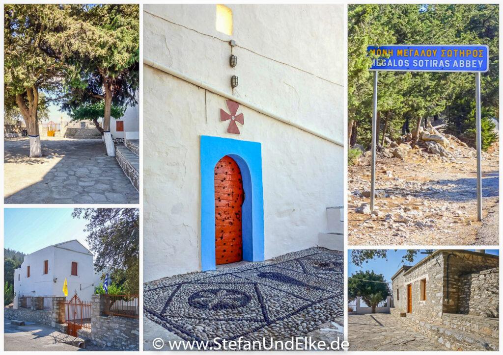 Wanderung von Symi Gialos zum Kloster Panormitis – Kloster Megalos Sotiras