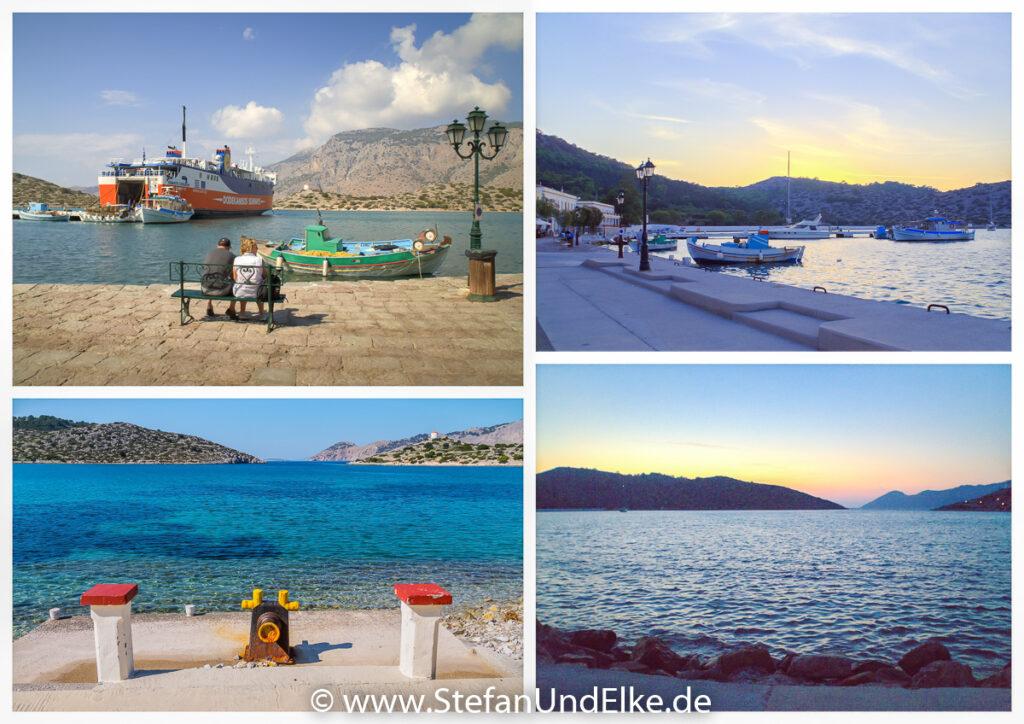 Im Hafen von Panormitis – Insel Symi, Griechenland