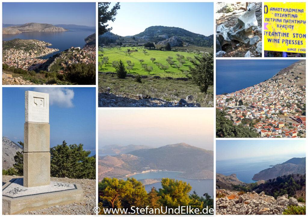 Wanderung von Symi Gialos zum Kloster Panormitis – unterwegs
